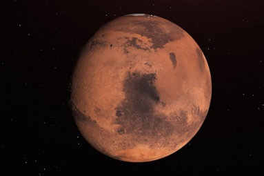 Is Earth making the Moon rust?