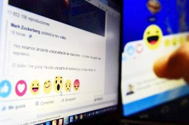 Do not use Facebook reactions, to preserve privacy!