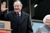 George Bush Admitted In Intensive Care With In Hours Of Wifes Funeral