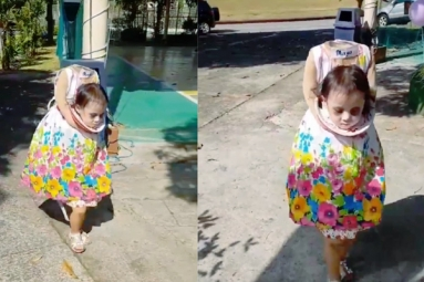 Halloween 2018: 2-year-old Girl's Creepy Costume takes Internet by Storm