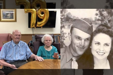 Husband, 100, and Wife, 103, Credit Hersey's Chocolate as the Secret to Their 79-Year of Marriage