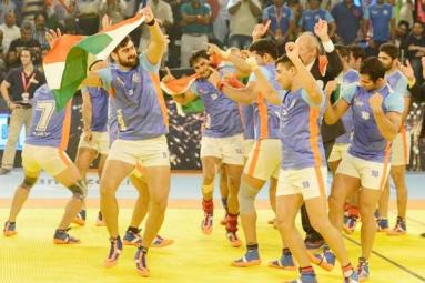 India wins Kabaddi World Cup, keeps its kabaddi crown