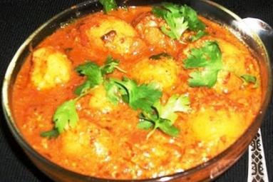 Kashmiri dum aloo recipe!
