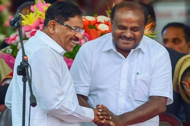 Karnataka Floor Test Update: Kumaraswamy Wins Trust Vote, BJP MLAs Walk Out
