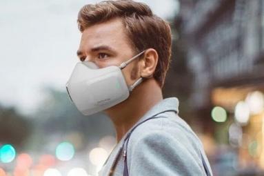 LG announces Battery-Powered Air Purifier Mask