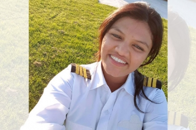 Mumbai Girl First in the World to Cross Atlantic Ocean in Light Sports Aircraft