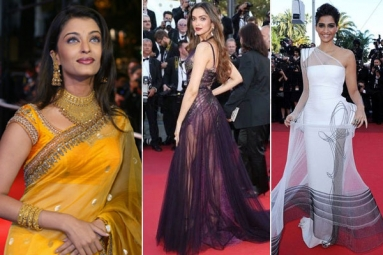 Cannes Film Festival: Here's a Look at Bollywood Actresses' First Red Carpet Appearances