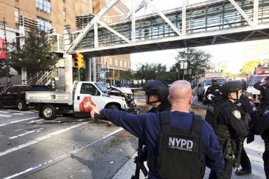 Manhattan terrorist strike