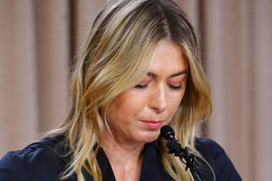 Sharapova suspended for 2 years for doping!