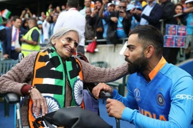 Meet Charulata Patel, the 87-Year-Old Cricket Fan, Who Steadily Seen Cheering for India at Edgbaston