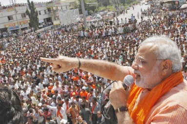 Modi effect, huge gains for BJP