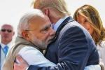 PM Modi welcome US President Trump at Ahmedabad