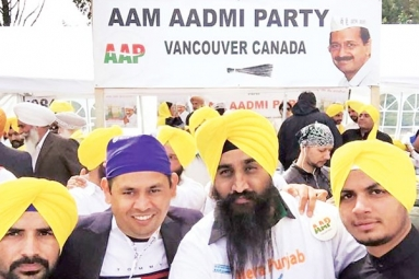 Punjabi NRIs to Visit India to Support AAP election Campaign
