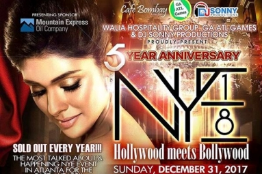 NYE 2018 - Hollywood Meets Bollywood