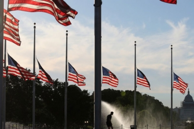 El Paso, Ohio Shootings: Trump Orders Flags to Fly at Half-Mast as 'Mark of Solemn Respect' for Victims