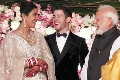 PM Modi Attends Priyanka Chopra, Nick Jonas Reception in Delhi