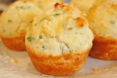 Parmesan Herb Mini Muffins
