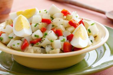 Yummy Potato and Egg Salad!