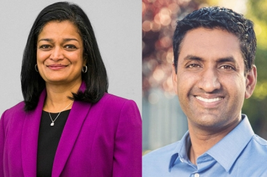 Pramila Jayapal, Ro Khanna Elected to Powerful Congressional Caucus
