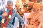 Secretary Hillary Clinton and Former U.S. President Bill Clinton Pays Rich  Tribute to HH Pramukh Swami Maharaj of BAPS Swaminarayan Sanstha