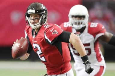 QB Matt Ryan named Atlanta Falcon's NFL Man of the Year nominee!
