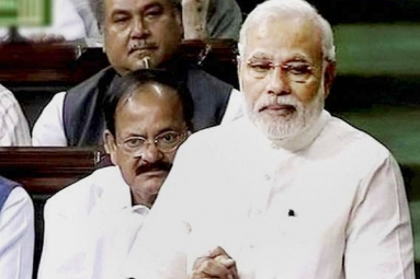 Highlights of Prime Minister Modi's Rajya Sabha speech