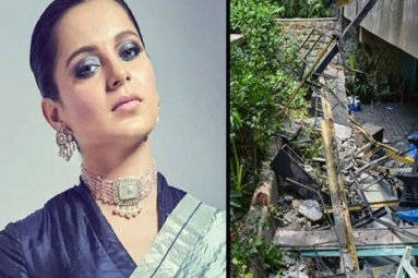 Kangana Ranaut demands 2 crores from BMC for damaging her office
