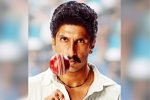 Ranveer Singh's Transformation as Kapil Dev from 83