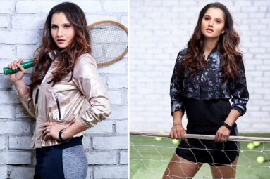 In Pictures: Sania Mirza Giving Major Mother Goals in Athleisure Fashion for New Shoot