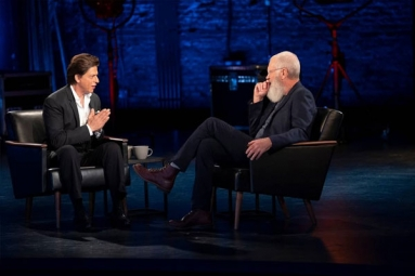 Shah Rukh Khan Makes His Appearance on David Letterman's Show