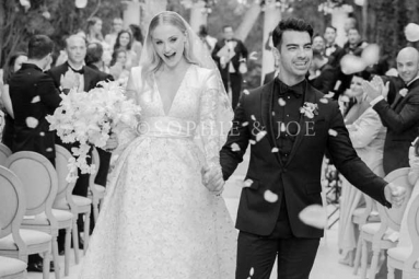 Sophie Turner and Joe Jonas Share First Photo of Their Wedding Day and It Is Every Bit Gorgeous