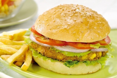 Tasty Corn and Chickpea Burger Recipe