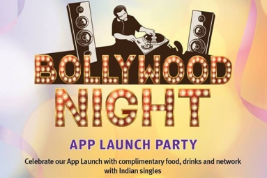 The Bollywood Night - App Launch Party