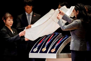 Tokyo 2020 Olympic Medals Have Been Made from 6 Million Recycled Phones