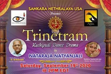 Trinetram - Kuchipudi Dance Drama in Duluth