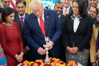 President Donald Trump Celebrates Diwali in White House, Shares Moments on Twitter