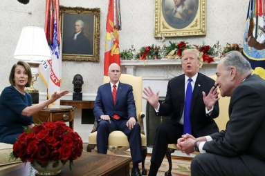 Trump Threatens to Shut Down Government over Border Wall