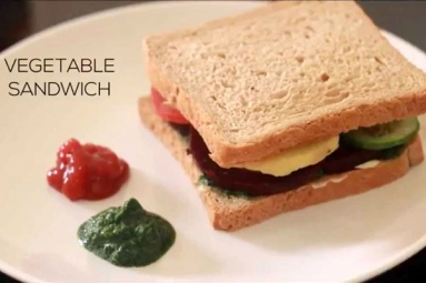 Healthy and Tasty Vegetable Sandwich Recipe