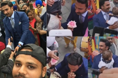 Watch: Video of Ranveer Singh Giving a Flower to an Elderly Woman Is Winning Hearts