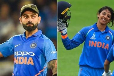 Virat Kohli, Smriti Mandhana Named Wisden Leading Cricketers of the Year