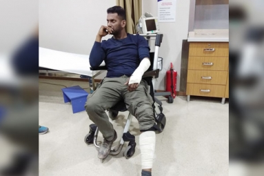 Vishal Injures Himself in Turkey