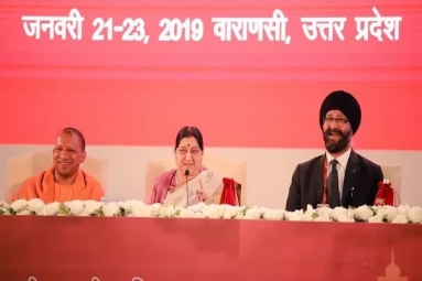 Indian Community Changed India's Perception Across the World: Swaraj