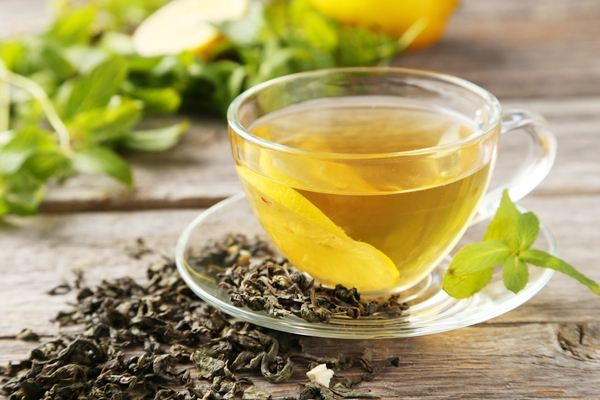 Have green tea to prevent artery explosion!