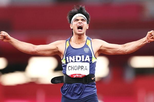 Neeraj Chopra Scripts History In Javelin Throw