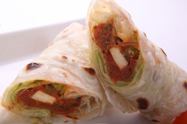 Lip- Smacking Paneer and Cheese Roll Recipe