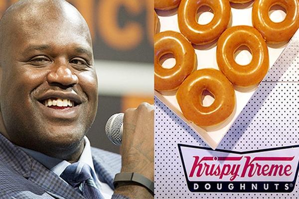 Shaq gets ownership of historic Atlanta Krispy Kreme store!