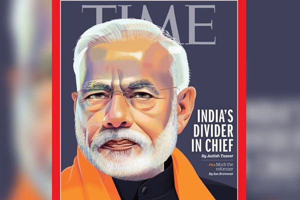 TIME Magazine Portrays PM Modi on Its International Edition with Arguable Headline