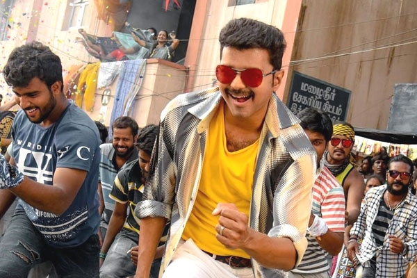 Vijay's Mersal Opens To Packed Houses In Telugu States